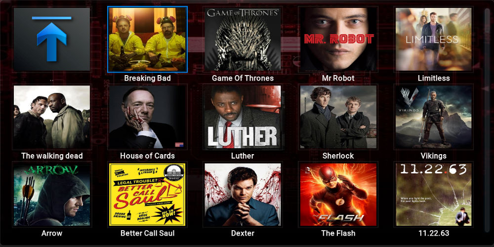 Top TV Shows Addon