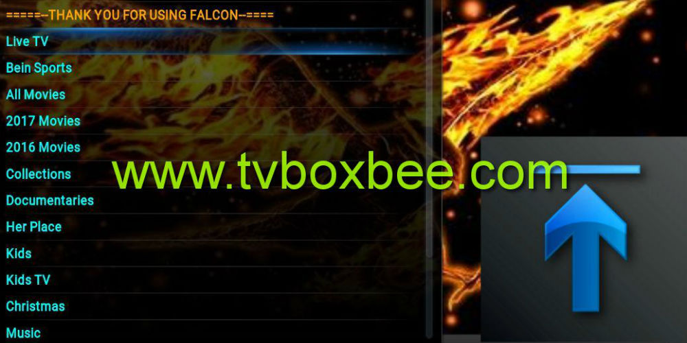 falcon movies addon