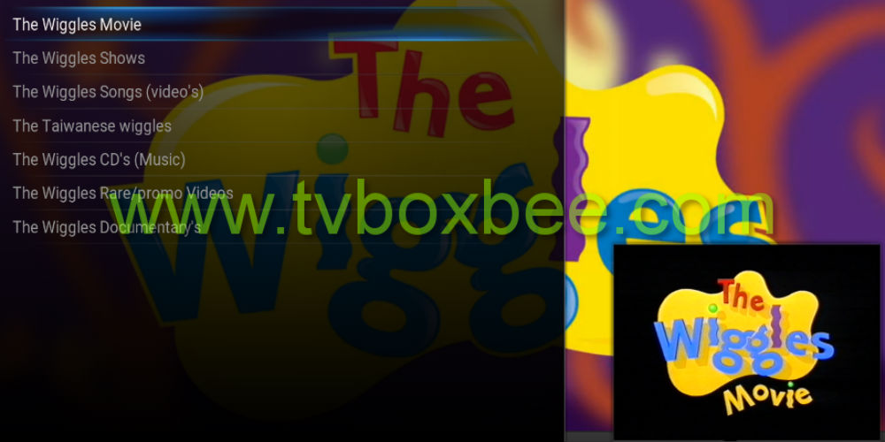 The Wiggles Addon