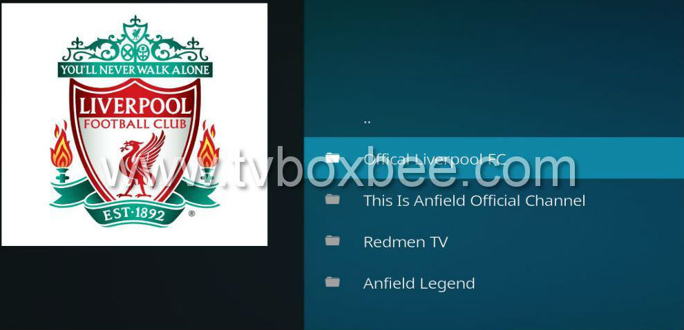 This is Anfield Addon