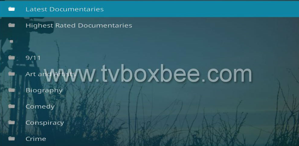 Decado Documentaries Addon