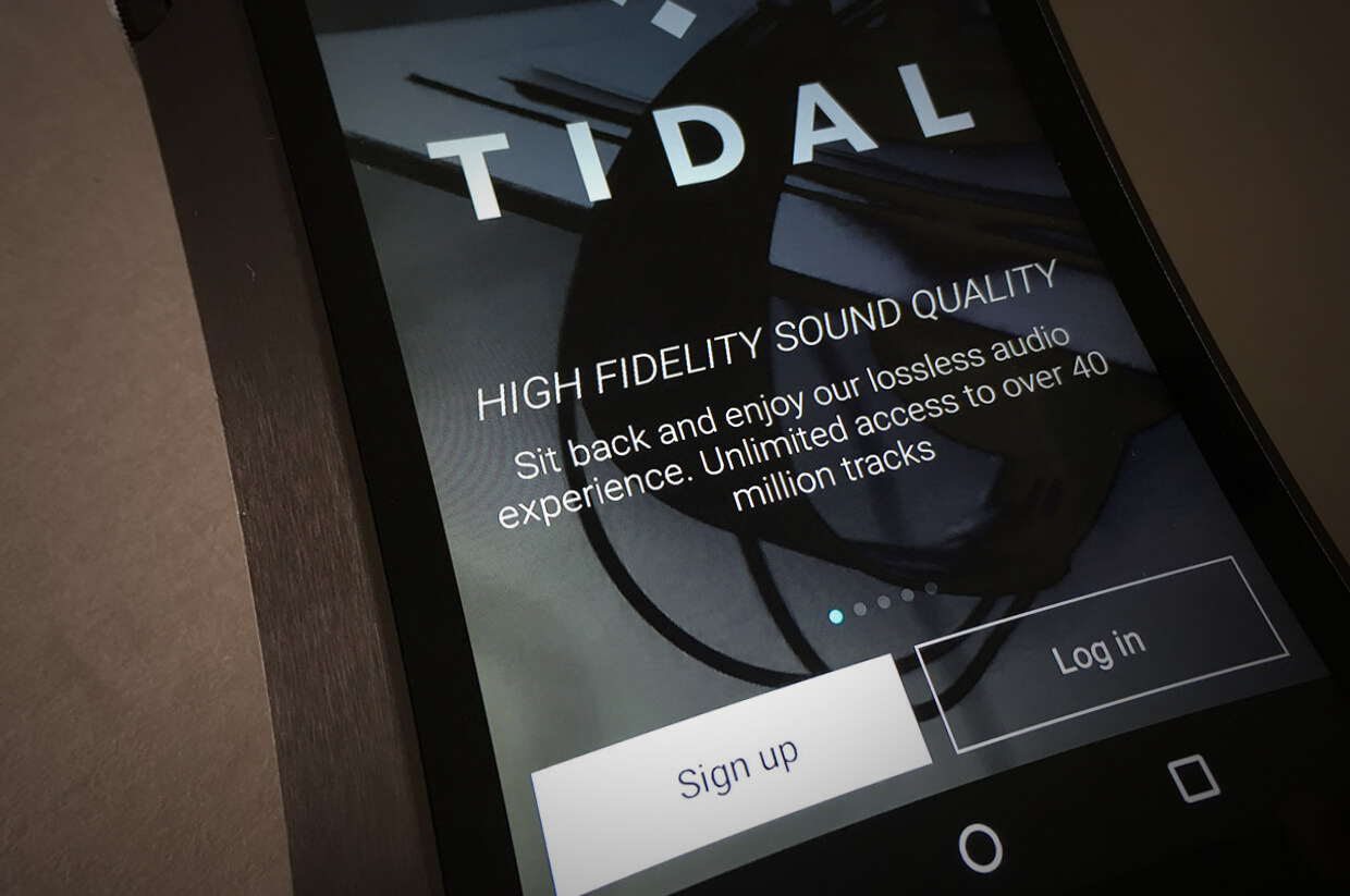 tidal, play videos, stream music