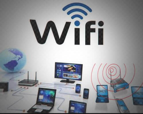 Use Wifi Connection, connect device through wifi