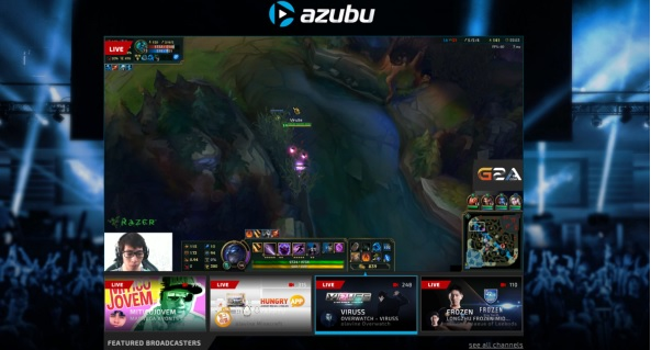azubu on android, popular live streaming esports game on android