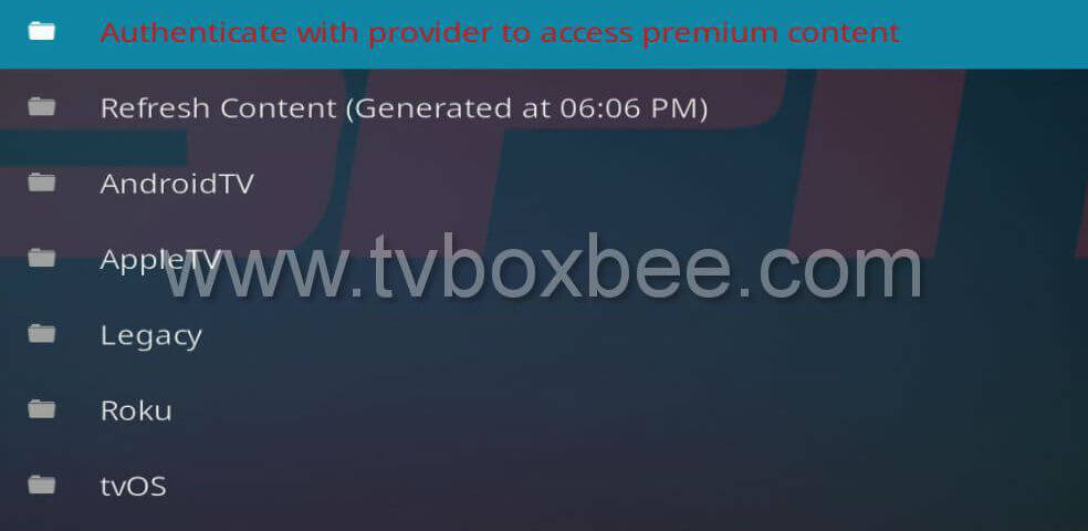 ESPN 3 Addon for Kodi