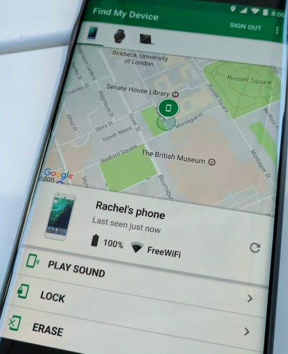 find my device, how to find your lost device, lost android device