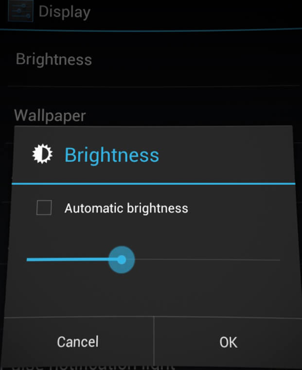 check brightness settings on android, fix brightness issue with android, tips to check brightness settings
