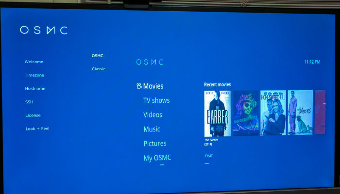 install the software osmc for kodi, install kodi on raspberry pi