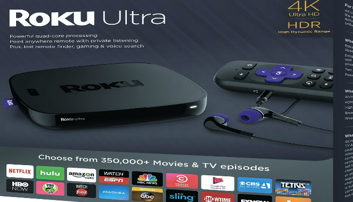 roku ultra, best streaming box ultra roku, stream video on ultra roku box