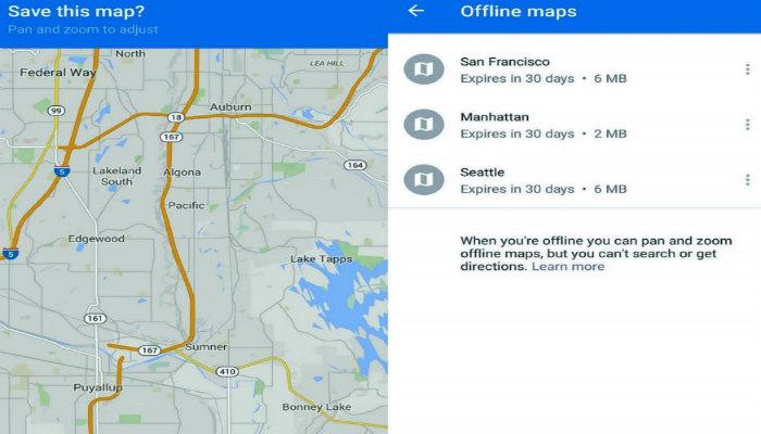 use offline maps, how to use offline maps on android, get offline maps on android