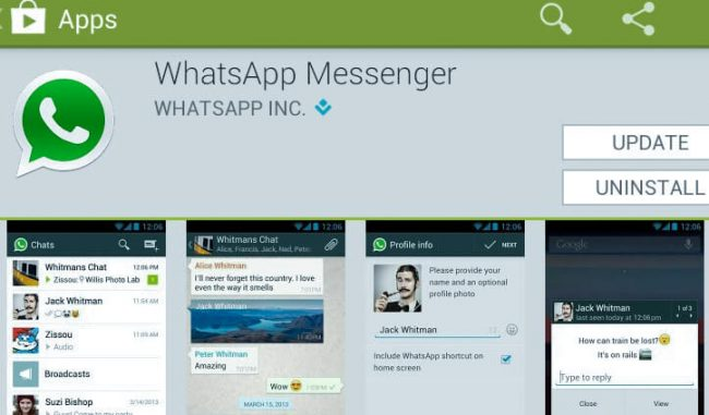 whatsapp on playstore, install whatsapp on playstore, how to install whatsapp on playstore