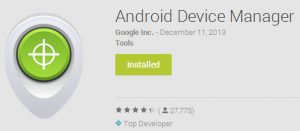 Android device manager, track android phone