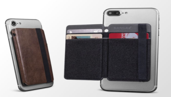 Bellagio Italia Leather Folding Phone Wallet