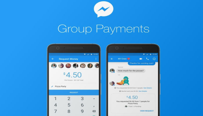 Messenger Group Payments