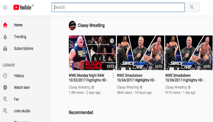 latest YouTube Interface