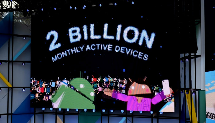 android next billion active devices, android billion active users