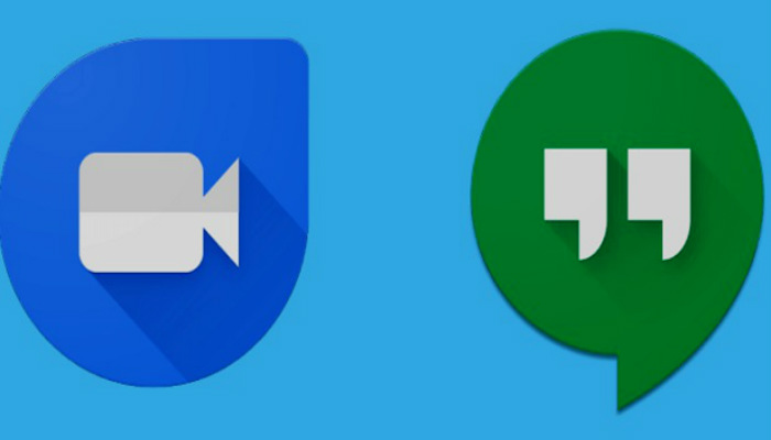 hangout and duo apps on android, install hangout on android, install duo app on android