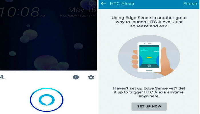 setup amazon alexa on htc u11, how to install amazon alexa on htc 11