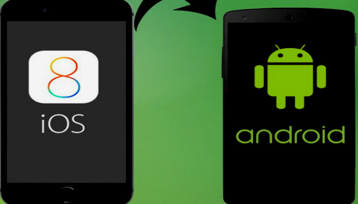 switch from iphone to android, iphone to android