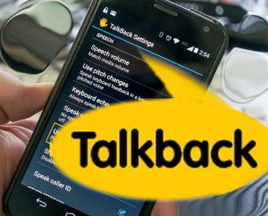 talkback android accessibiliy