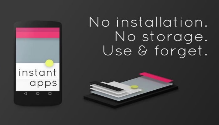 Android Instant Apps storage