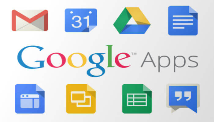 different google apps