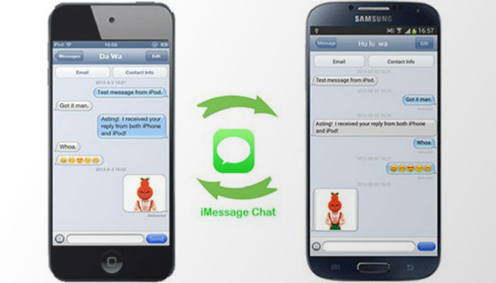 imessage chat in android