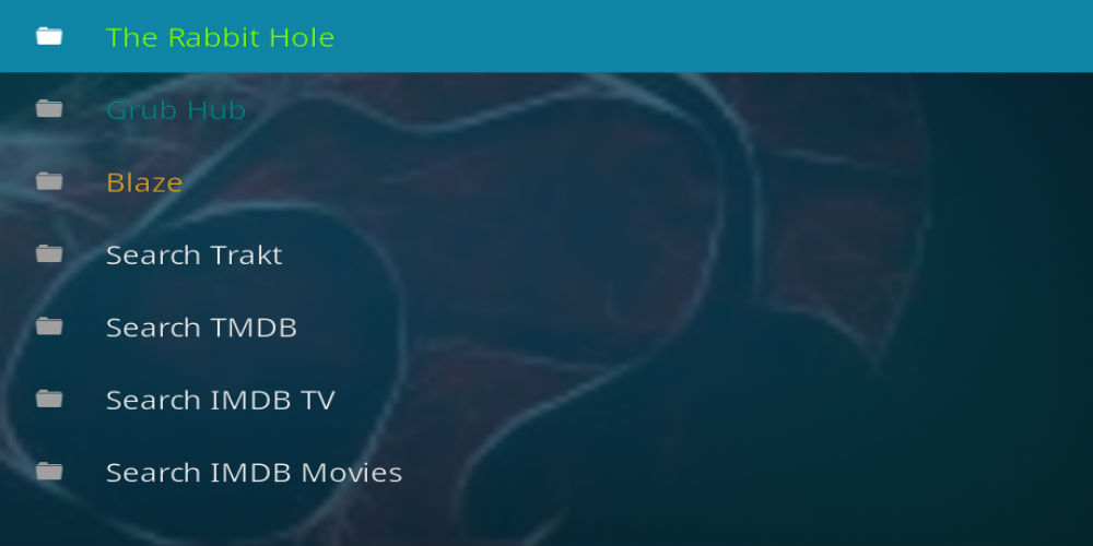 The Rabbit Hole Kodi Addon