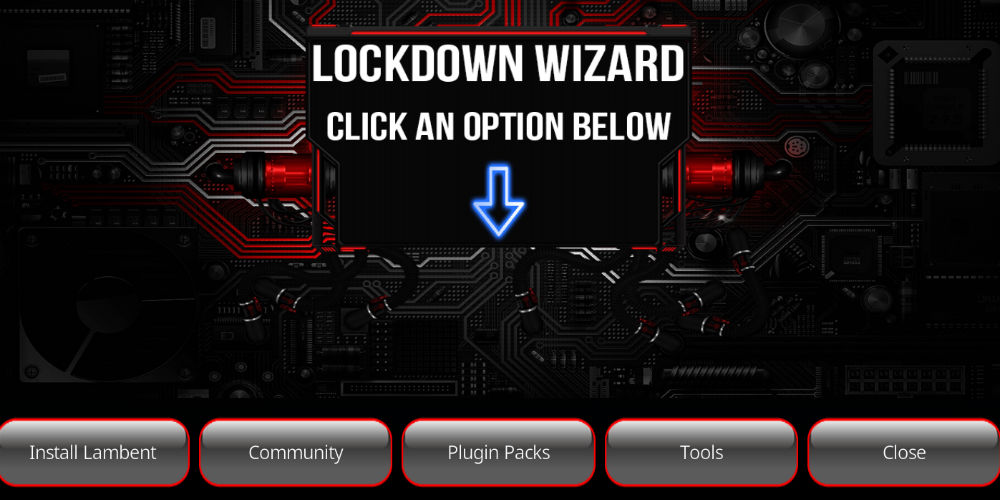 Lockdown Kodi Wizard