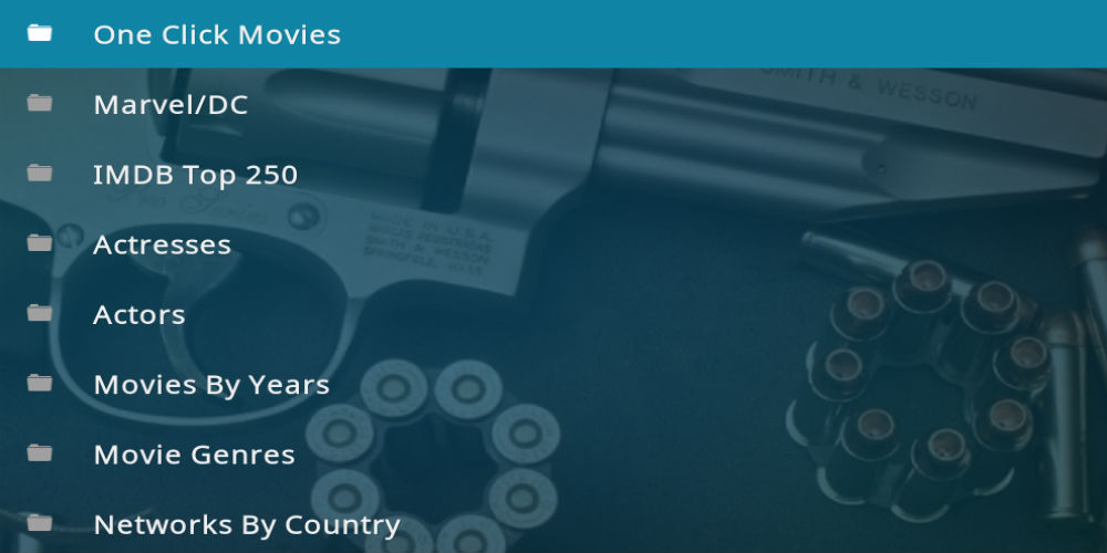 Smith And Wesson Kodi Addon