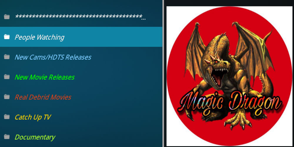 The Magic Dragon Kodi Addon