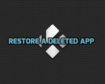 how to restore app on android box, restore deleted app on android box, reinstall deleted app on android box,