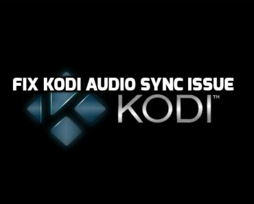Kodi audio sync issue