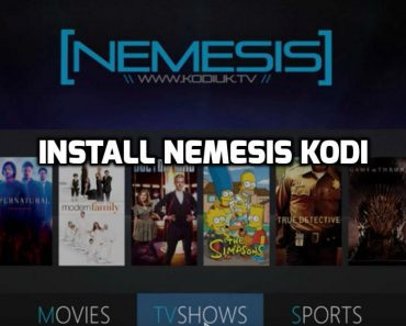 Nemesis Kodi Build 2016