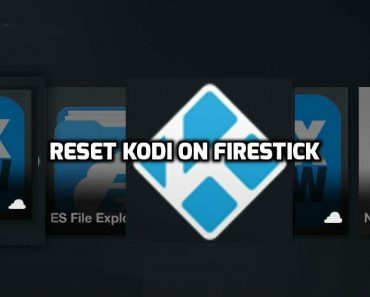 Clear data on Kodi on Firestick