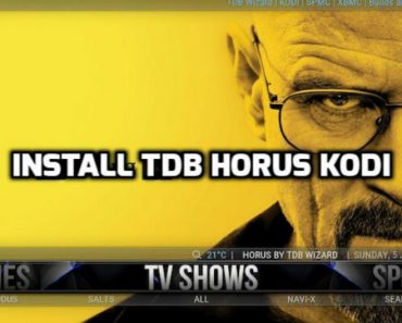 TDB Horus Build Kodi