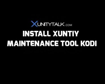 How to install Xunity Maintenance Tool Kodi
