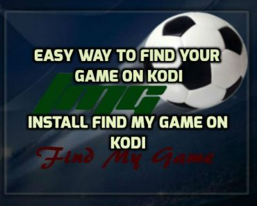 Find My Game Kodi