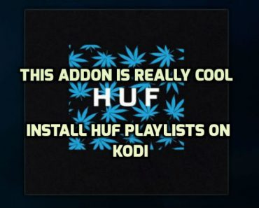 HUF Playlists Kodi