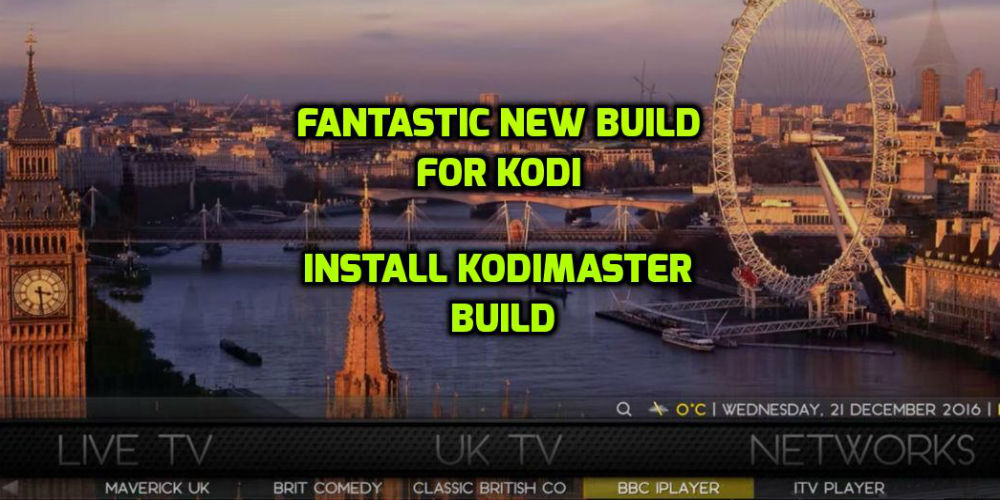 How To Install KodiMaster Build On Kodi