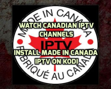 Made In Canada IPTV Addon
