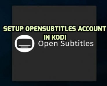 Setup opensubtitles.org Account