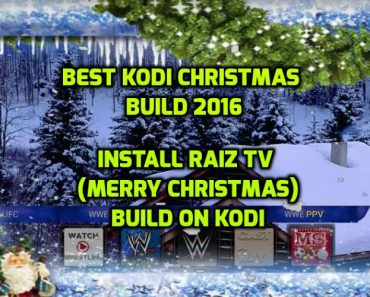 merry christmas build kodi