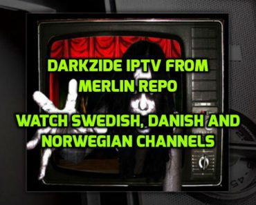 Darkzide IPTV Addon for Kodi