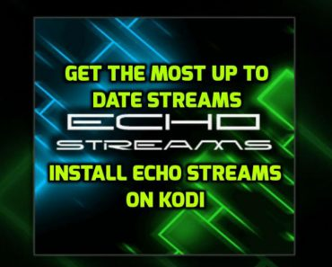Echo Streams Addon for kodi