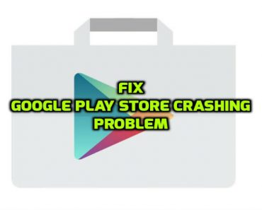 Fix google play store crashing problem