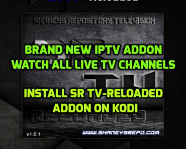 SR TV Reloaded Addon Kodi