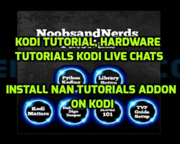 NAN Tutorials Addon