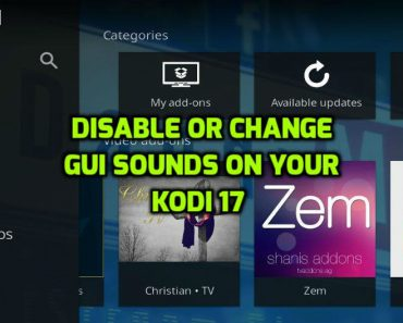 GUI Sounds in Kodi 17