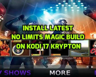 No Limits Magic Build Kodi 17